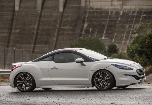 PEUGEOT RCZ II coupe biały boczny prawy