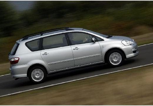 Toyota Avensis Verso II van silver grey boczny prawy