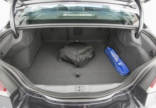 PEUGEOT 508 sedan przestrzeń załadunkowa