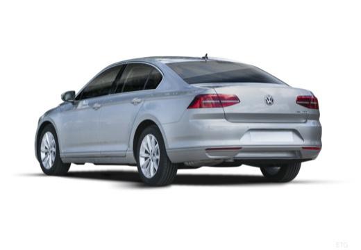VOLKSWAGEN Passat sedan silver grey tylny lewy