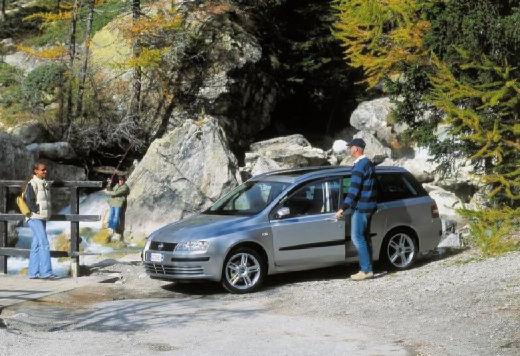 FIAT Stilo kombi silver grey przedni lewy