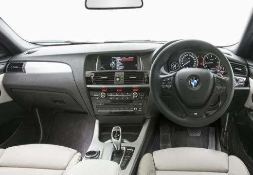 BMW X4 X 4 F26 kombi czerwony jasny tablica rozdzielcza
