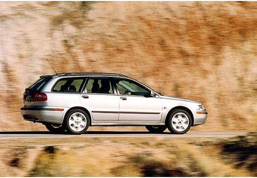 VOLVO V40 II kombi silver grey tylny prawy