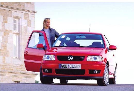 VOLKSWAGEN Polo III II hatchback czerwony jasny przedni lewy