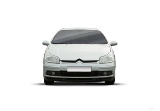 CITROEN C5 II hatchback silver grey przedni