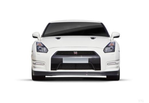 NISSAN GT-R coupe przedni