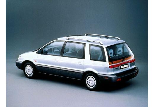 MITSUBISHI Space Wagon II van silver grey tylny lewy