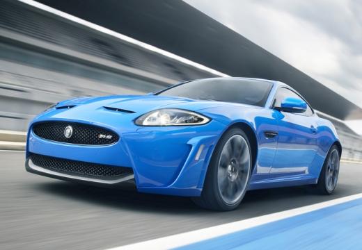 JAGUAR XK II coupe niebieski jasny przedni lewy
