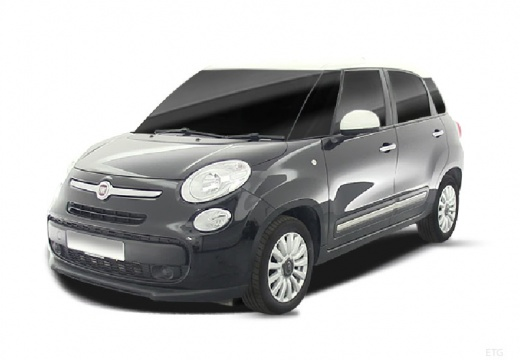 FIAT 500 L I hatchback szary ciemny