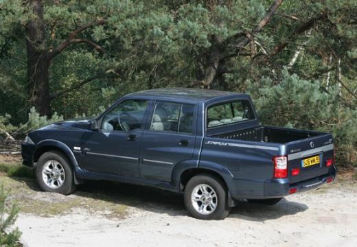 SSANG YONG Musso Sports pickup niebieski jasny tylny lewy