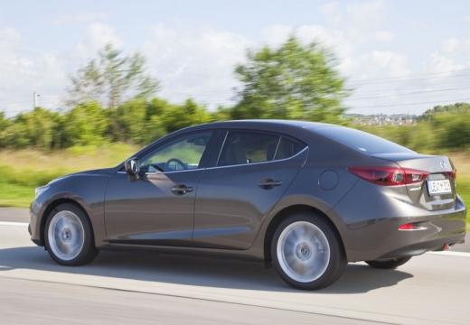 MAZDA 3 V sedan silver grey tylny lewy
