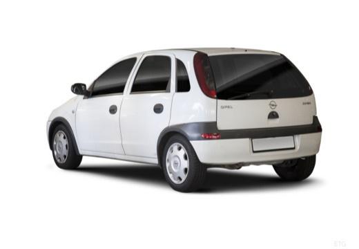 OPEL Corsa C II hatchback biały tylny lewy