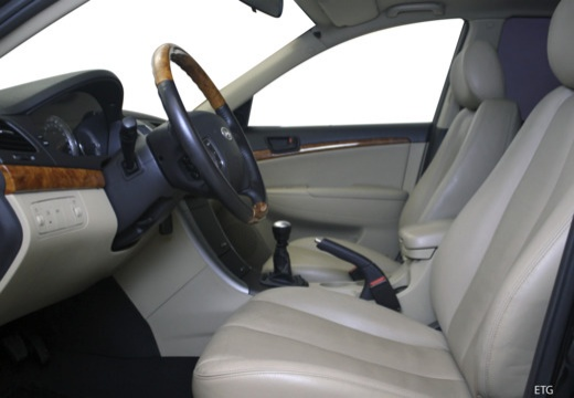 HYUNDAI Sonata VII sedan wnętrze