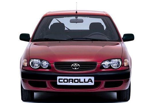 Toyota Corolla V hatchback bordeaux (czerwony ciemny) przedni