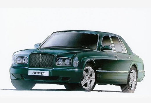 BENTLEY Arnage sedan zielony przedni lewy