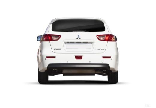 MITSUBISHI Lancer Sportback hatchback biały tylny