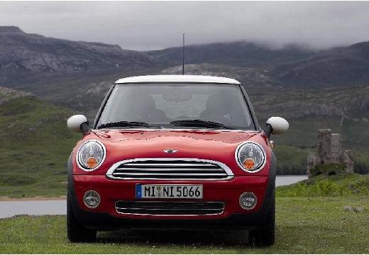 MINI [BMW] Cooper hatchback czerwony jasny przedni