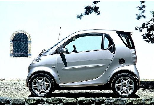 SMART smart Smart coupe silver grey boczny lewy