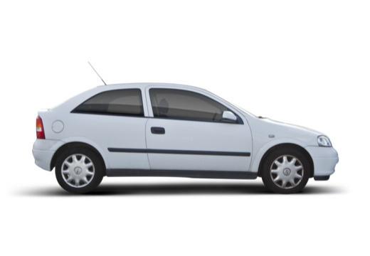 OPEL Astra II hatchback boczny prawy