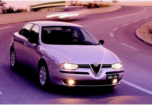ALFA ROMEO 156 I sedan silver grey przedni prawy