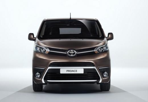 Toyota Proace Verso kombi mpv brązowy przedni