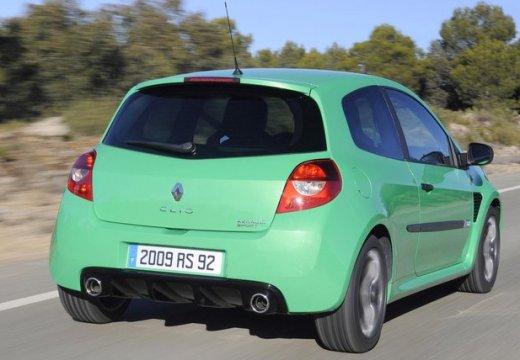 RENAULT Clio III II hatchback zielony tylny prawy