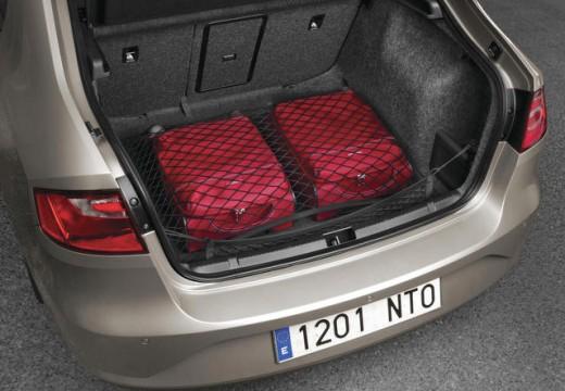 SEAT Toledo IV hatchback przestrzeń załadunkowa