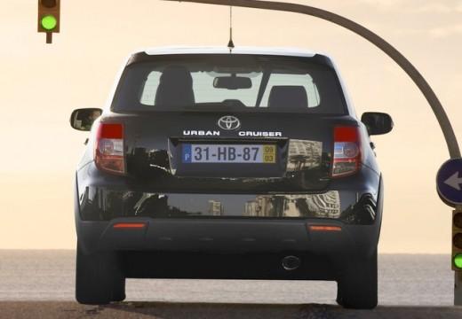 Toyota Urban Cruiser I hatchback fioletowy tylny