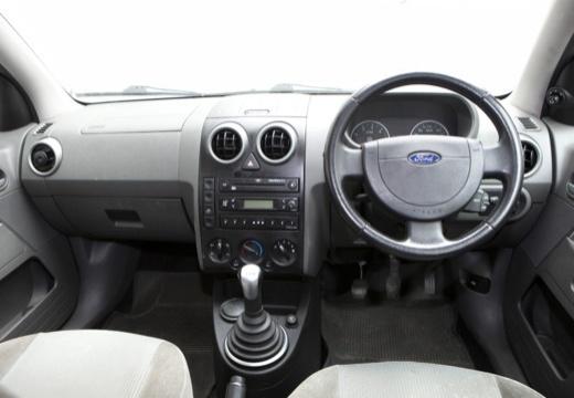 FORD Fusion I hatchback niebieski jasny tablica rozdzielcza