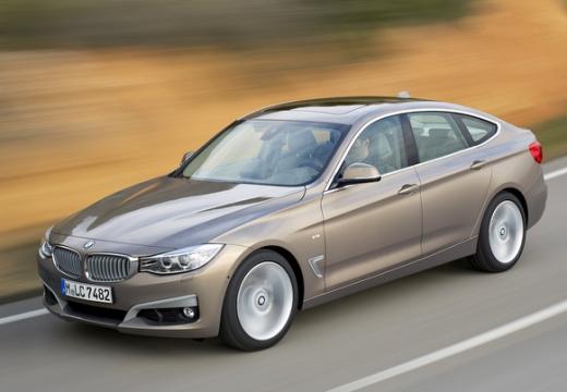 BMW Seria 3 Gran Turismo hatchback brązowy przedni lewy