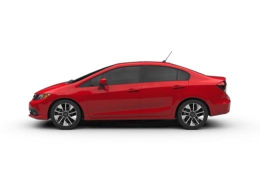 HONDA Civic VIII sedan boczny lewy