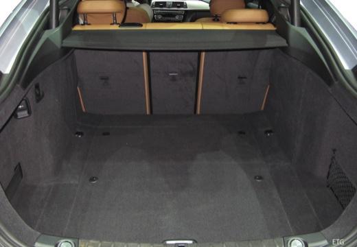 BMW Seria 4 Gran Coupe F36 II hatchback przestrzeń załadunkowa