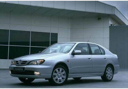 NISSAN Primera III hatchback silver grey przedni lewy