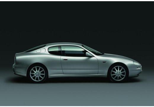 MASERATI 3200 coupe silver grey boczny prawy