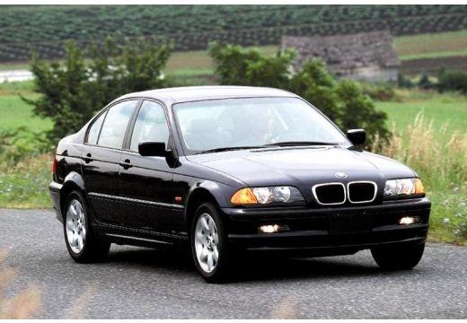 BMW Seria 3 E46 sedan czarny przedni prawy