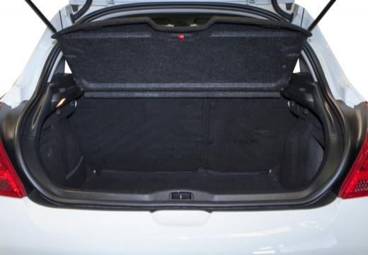 PEUGEOT 308 II hatchback przestrzeń załadunkowa