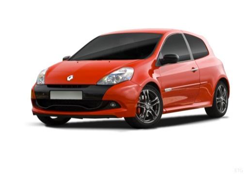 RENAULT Clio III II hatchback czerwony jasny przedni lewy