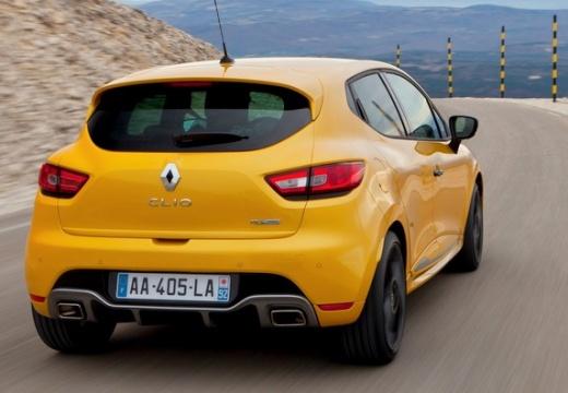 RENAULT Clio IV I hatchback żółty tylny prawy