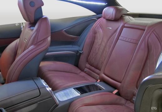 MERCEDES-BENZ Klasa S Coupe I coupe wnętrze