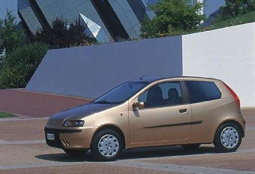 FIAT Punto II I hatchback szary ciemny przedni lewy