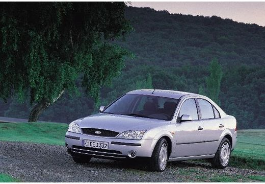 FORD Mondeo III sedan silver grey przedni lewy