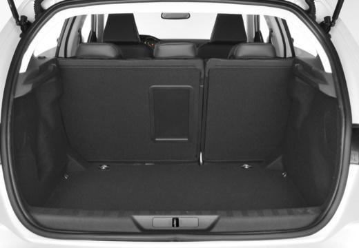 PEUGEOT 308 III hatchback przestrzeń załadunkowa