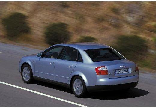 AUDI A4 8E I sedan silver grey tylny lewy