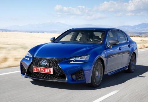 LEXUS GS V sedan niebieski jasny przedni lewy