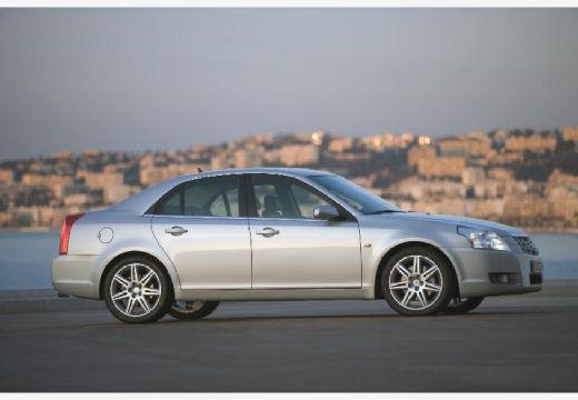 CADILLAC BLS I sedan silver grey boczny prawy