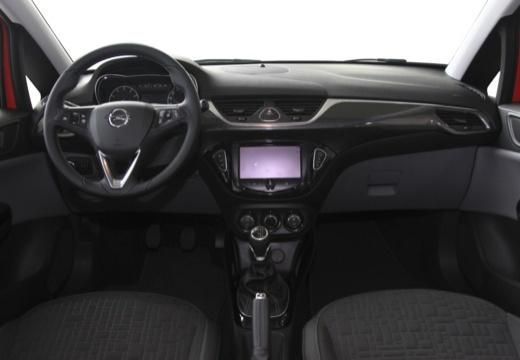 OPEL Corsa hatchback czerwony jasny tablica rozdzielcza