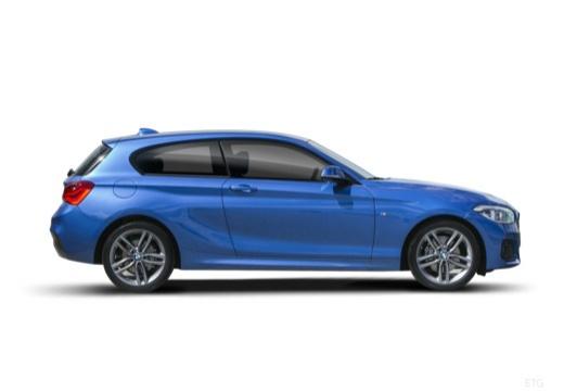 BMW Seria 1 F21 II hatchback boczny prawy