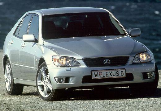 LEXUS IS I sedan silver grey przedni prawy