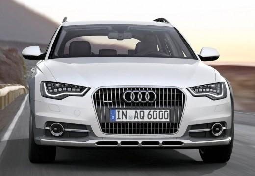 AUDI A6 Allroad kombi silver grey przedni