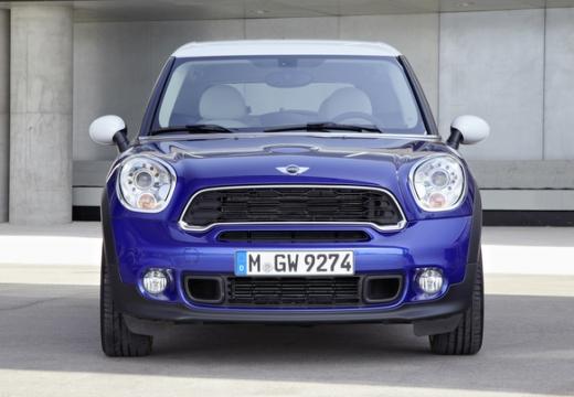 MINI [BMW] Paceman hatchback niebieski jasny przedni